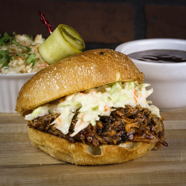Romby's Tavern and Smokehouse - Pulled Pork Sammy